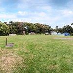 Main tent area