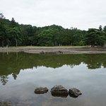 毛越寺 池
