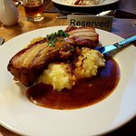 Slow cooked Belly Pork.