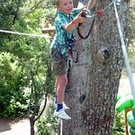 seven year-old using the fool-proof safety device