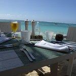 Déjeuner sur la plage