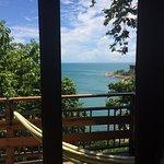 Il nostro bungalow e la stupenda vista