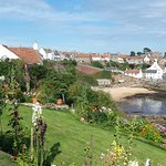 View of Crail Harbour from the Fife Coastal Path