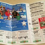 Monthly mailbox ad includes coupons and specials