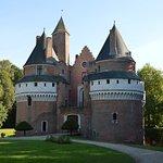 autre côté du château