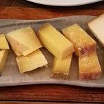 Selección de quesos - La simfonia (Girona)