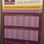 Shuttle Bus Times