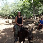 Horse Back Riding to the Rapids