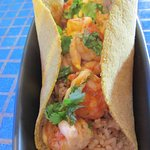 Smoke Chile Butter Shrimp Taco