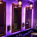 The bar area toilets