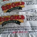 Why is Red Gold Ketchup being used?