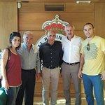 Jose Antonio nos invitó a asistir al primer partido de liga del Racing de Santander.