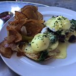 A fresh, new take on eggs benedict