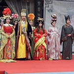 Fashion show from Tang Dynasty