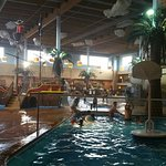 Fun for the family! Poolside restaurant and bar!