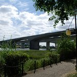 Rochester M2 Bridge, no intruding noise