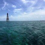 Sombrero Reef - July 4, 2016. Beautiful clear waters...
