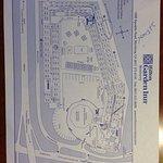 Hotel floor map