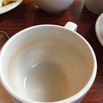 Clean tea cup 😳