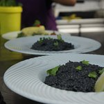 Arroz negro con tinta de calamar
