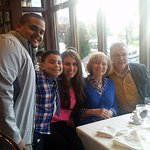 Mother's Day dinner 2016 at Columbus Park Trattoria