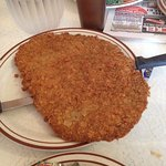 Chicken Fried Steak Dinner - This is a huge dinner plate size!!