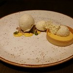 Passion Fruit Tart. All the right flavours and nicely round up the meal