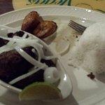Masas de Puerco (Pork chunks) y Chuletas de cerdo (Pork chops). Very tender and juicy