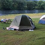 Kittatinny River Beach Campground