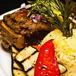 "Roast Lamb (Kleftiko-style) is a very popular dish at ""Rodos"""