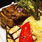 Roast Lamb (Kleftiko-style) A very popular dish at Rodos.