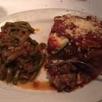 Moussaka with green beans