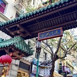 Hotel located next the Chinatown gate.