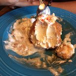 fried ice cream..free for daughters birthday...was great!