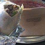 Hadn't had chipotle in a couple of years and it was still top notch simple, big and delicious.