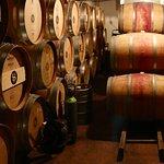 The cellar at Stonyridge vineyard.