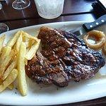 My husband's T-bone steak