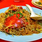 Crab vermicelli, the piece de resistance at End of the World