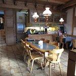 cheerful restaurant