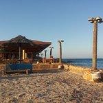 bar sul mare adiacente spiaggia