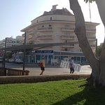 Block A solymar block B behind this ( 1 bed apartments)