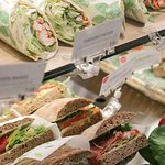 daily fresh made sandwiches, wraps and piadine