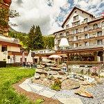 Hotell Meierhof Aussenansicht im Sommer
