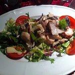 Très petite de salade de poulpe sans goût