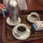 il caffe viene servito cosi