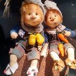 muñecos simpáticos de trapo