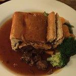 Steak and Horseradish Pie + Mash (not in photo)