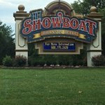 Entering the Showboat