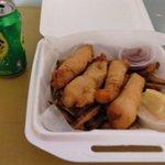 My Fish & Chips dinner