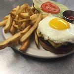 Fried Egg Burger